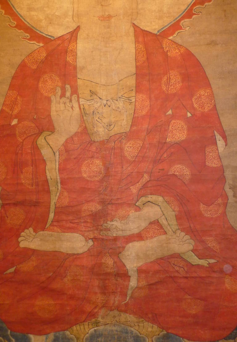 Paintings Bamboo Antique Scroll Asian