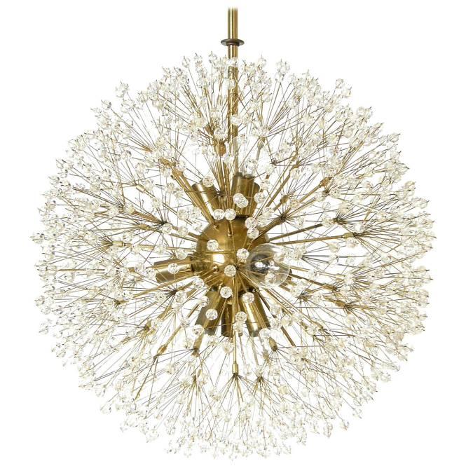 Crystal Dandelion Chandelier For