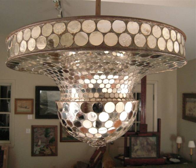 Rare Working Mirrored Stardust Ballroom Light Early Disco Ball 2