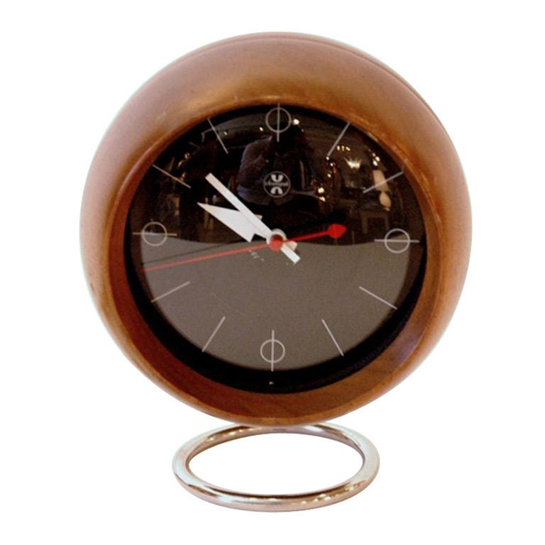 George Nelson Howard Miller Chronopak Desk Clock At 1stdibs