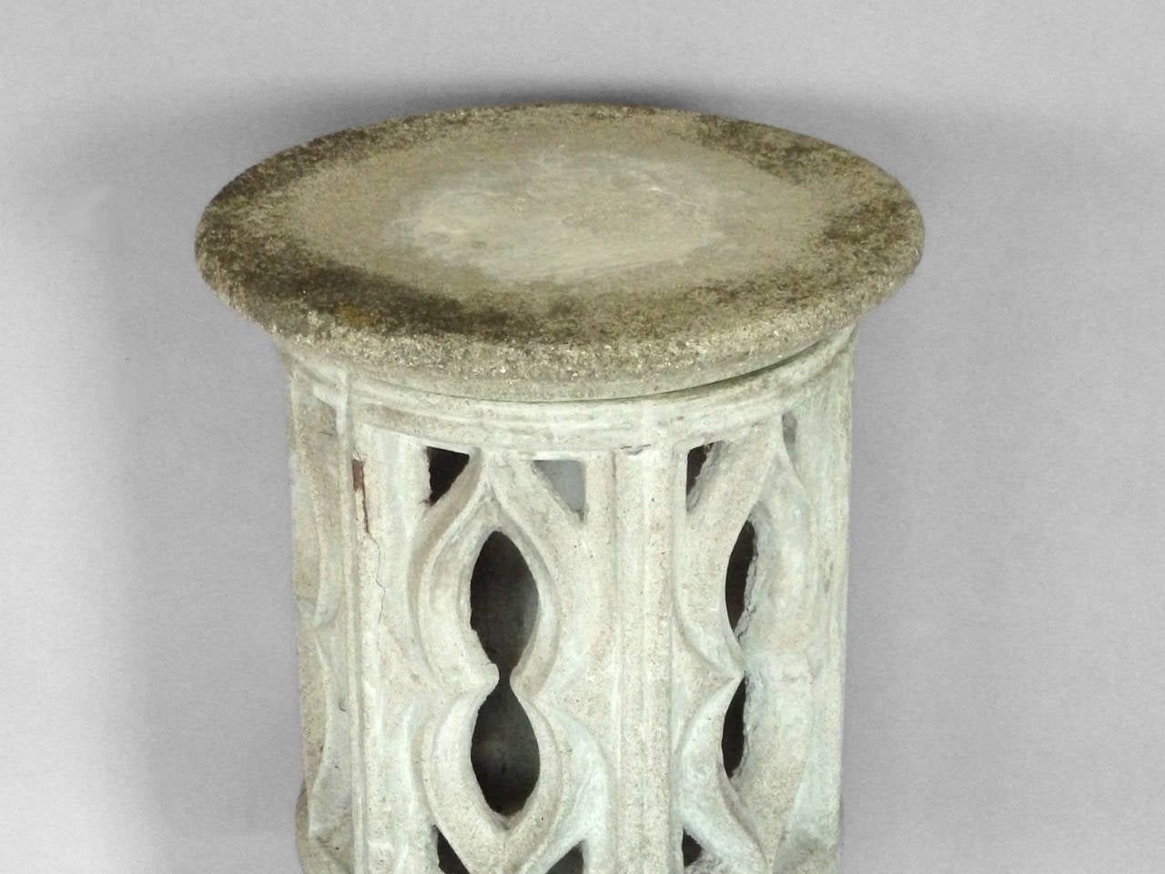 Cement Outdoor Pedestal For Sale At 1stdibs