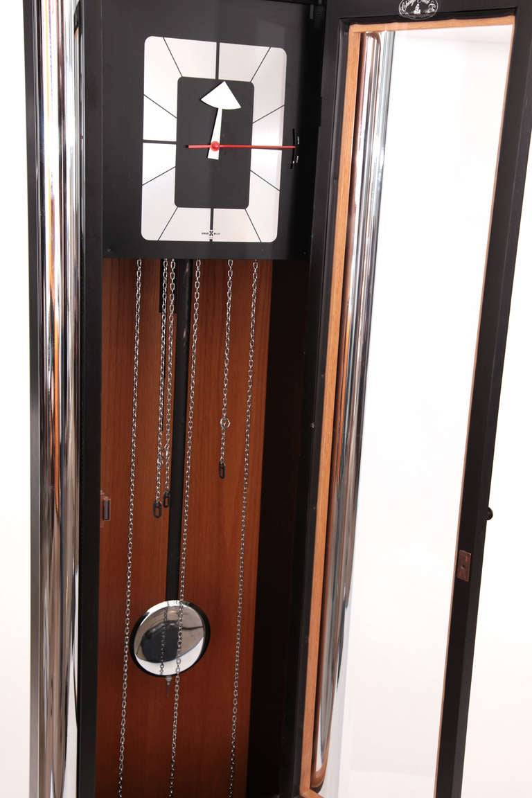 Striking Grandmother Clock By Arthur Umanoff For Howard