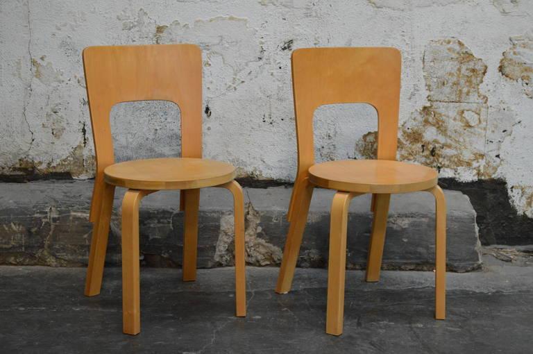 Chair 66 Alvar Aalto