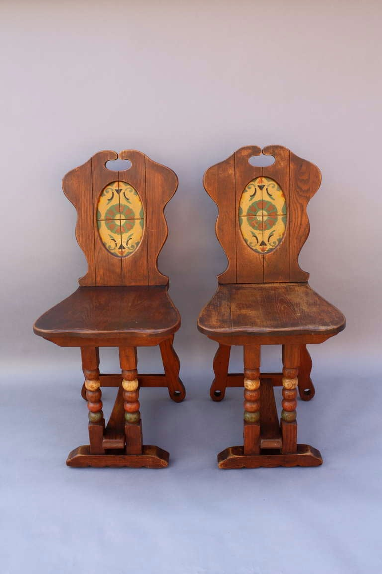 Antique Monterey Period Dining Room Set At 1stdibs