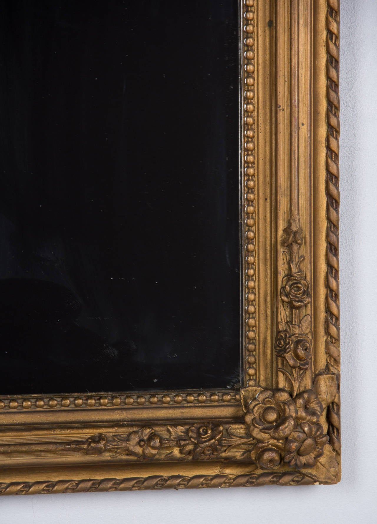 French Napoleon III Gilded Mirror 1870s For Sale At 1stdibs