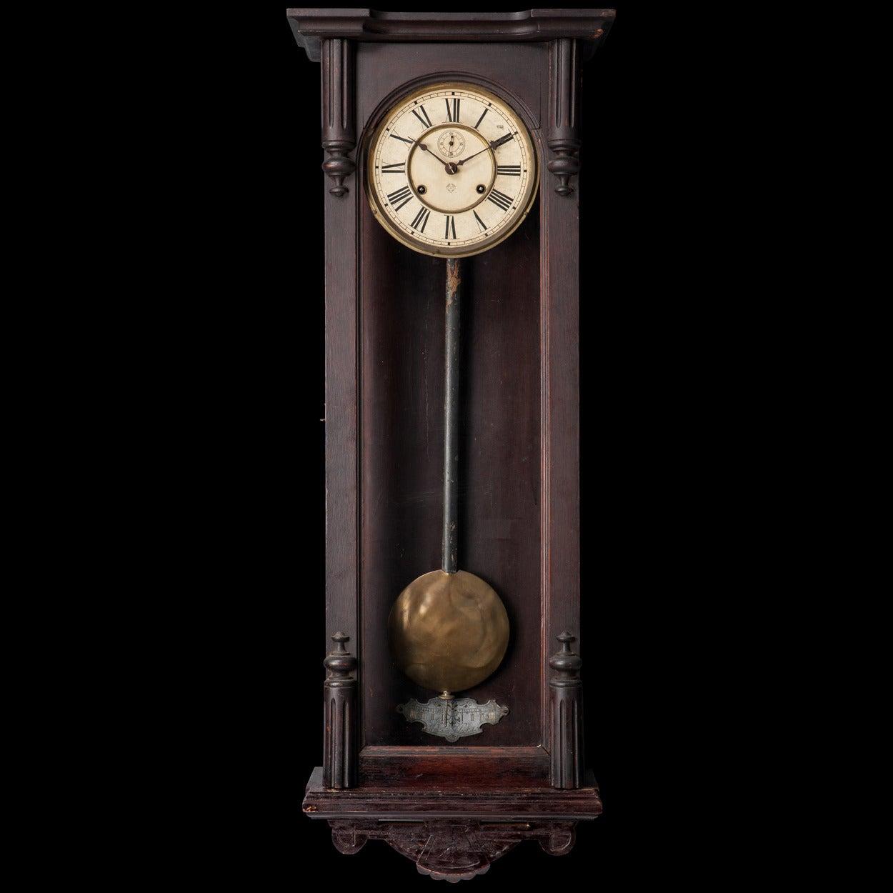 Pendulum Clock At 1stdibs