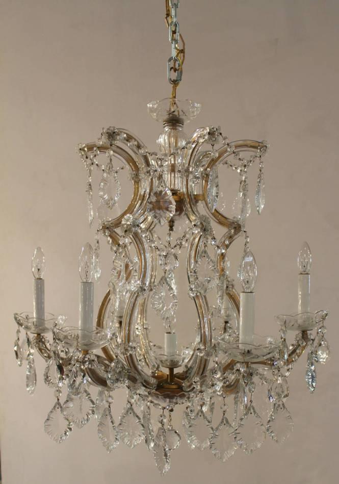 Maria Theresa Seven Light Chandelier 2