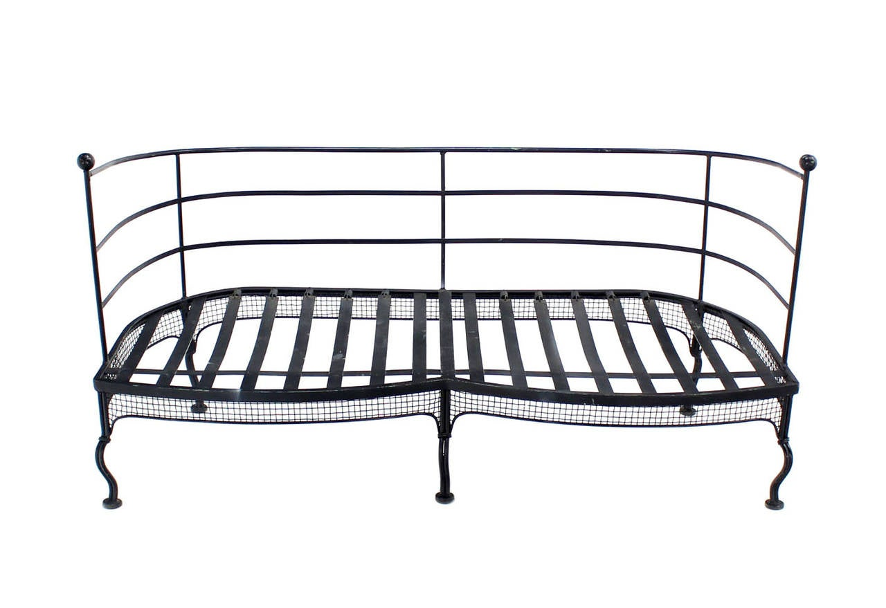 Wrought Iron Sofa Or Love Seat Frame At 1stdibs