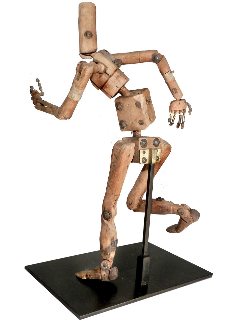 1800s French Articulated Artists Mannequin At 1stdibs