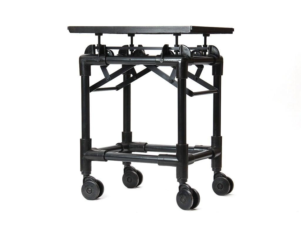 Wood And Metal Carts
