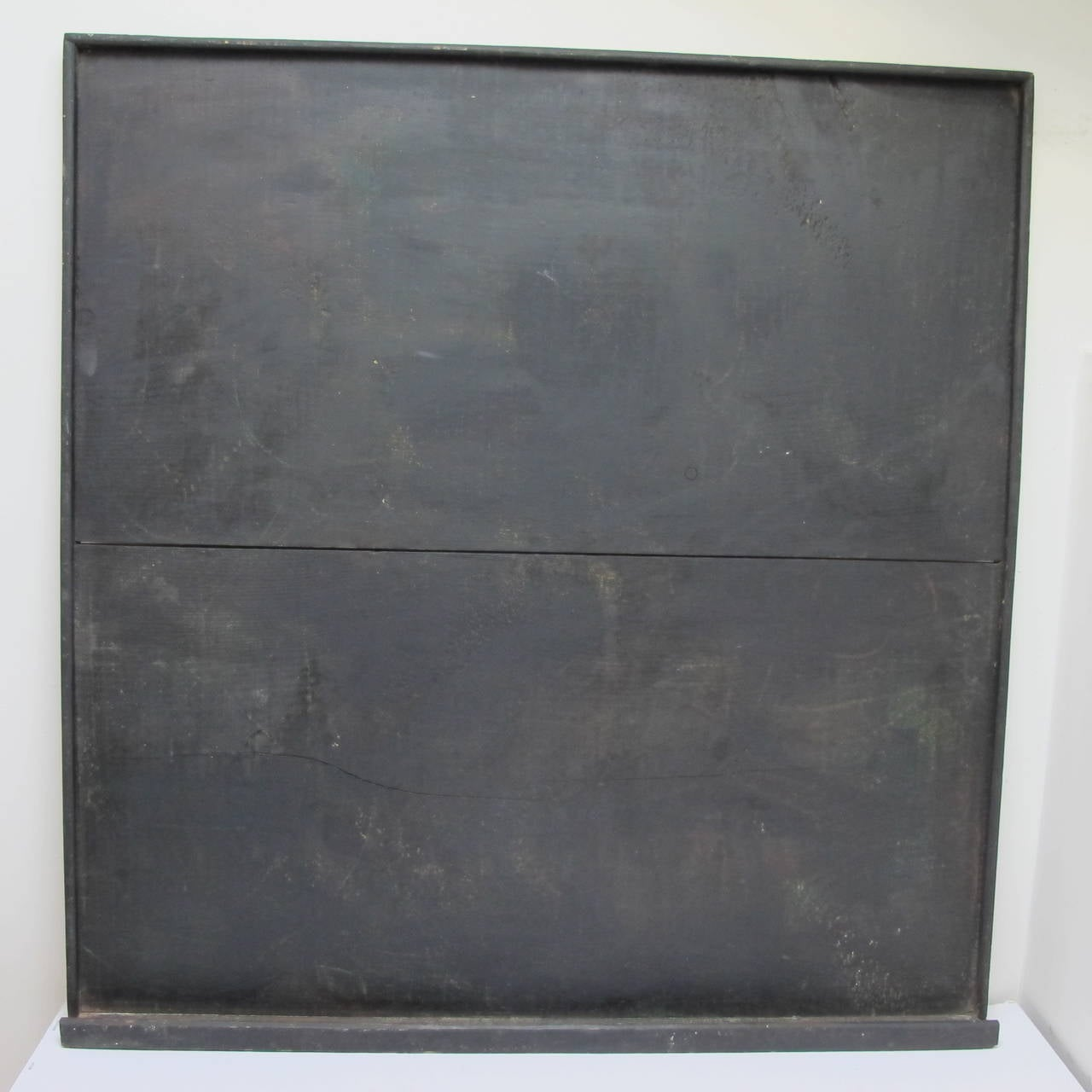 Early Wooden Blackboard With Tray For Sale At 1stdibs