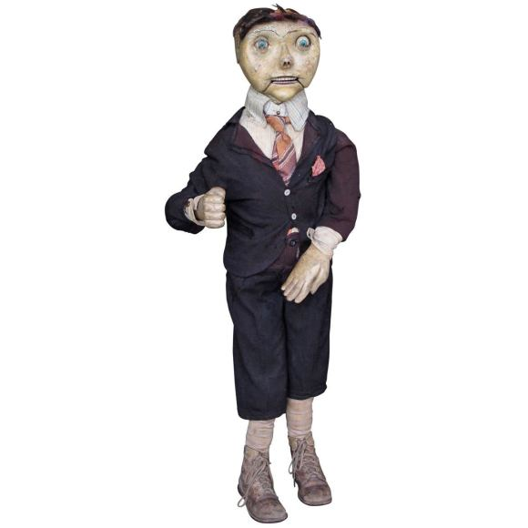 Remarkable Early Ventriloquist Dummy at 1stdibs