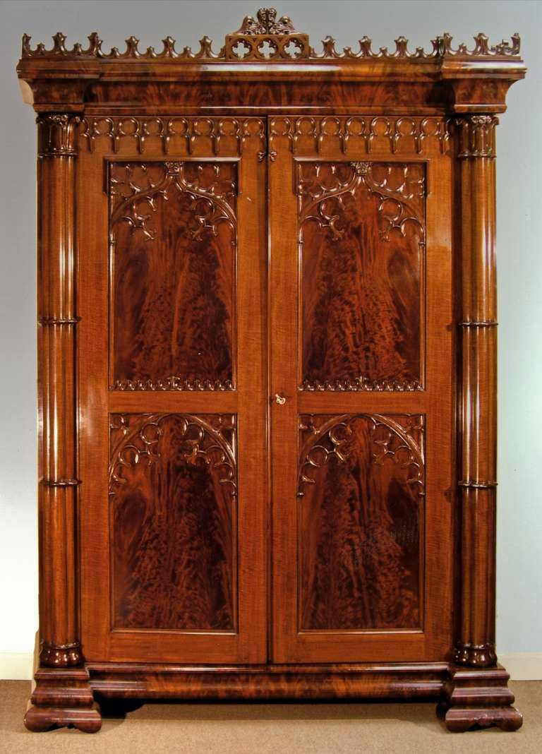 Gothic Armoire For Sale At 1stdibs