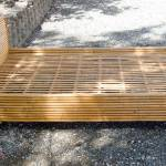 Mid Century Rattan Bed Frame With Full Or Double Headboard At 1stdibs