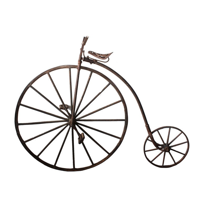 Late 1800s American High Wheeler Bicycle At 1stdibs