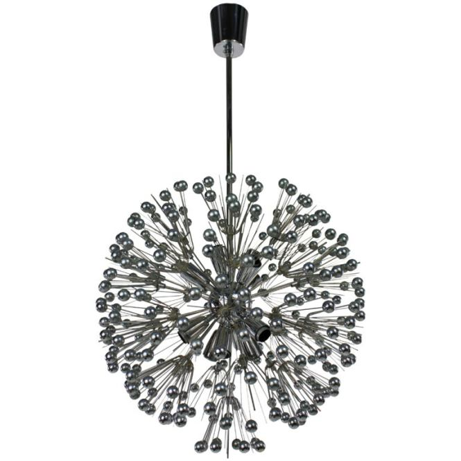 60 S Dandelion Seed Head Chandelier For