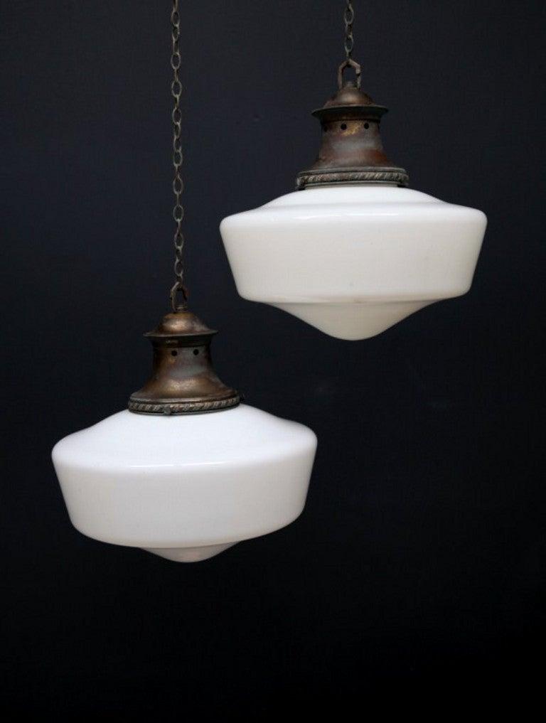 Small Opaline Pendant Lights At 1stdibs