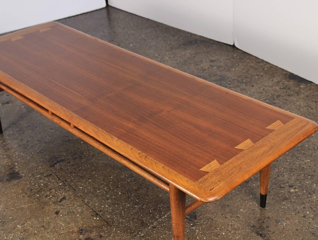 Mid-Century Lane Coffee Table At 1stdibs