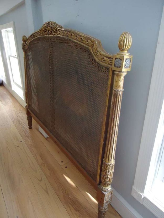 antique french caned headboard at 1stdibs