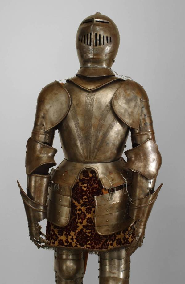 Italian Renaissance Style Etched Suit of Armor For Sale at ...