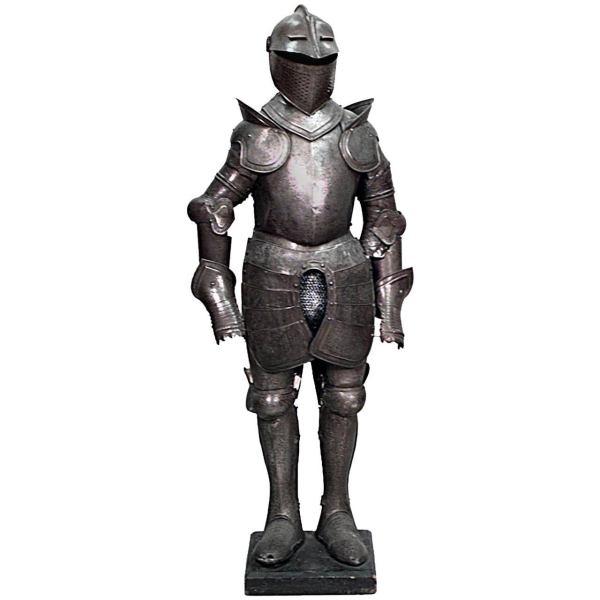 Short Italian Renaissance-Style Etched Metal Suit of Armor ...