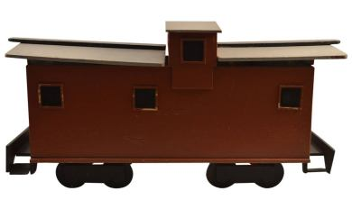 Wooden Toy Caboose | Wooden Thing