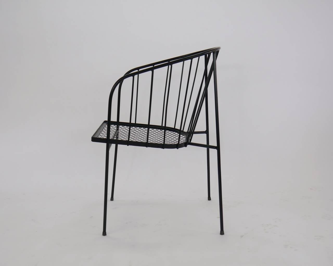 Set Of Four Chairs By George Nelson For Arbuck At 1stdibs