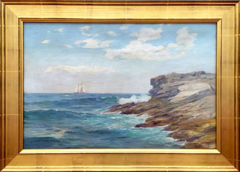 Warren W Sheppard Serene Sail Painting For Sale At