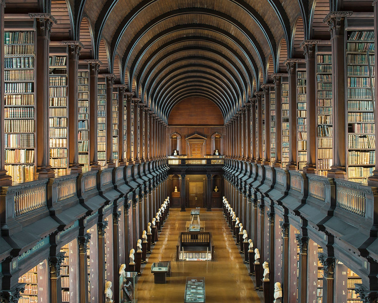 Reinhard Grner The Long Room Trinity College Library