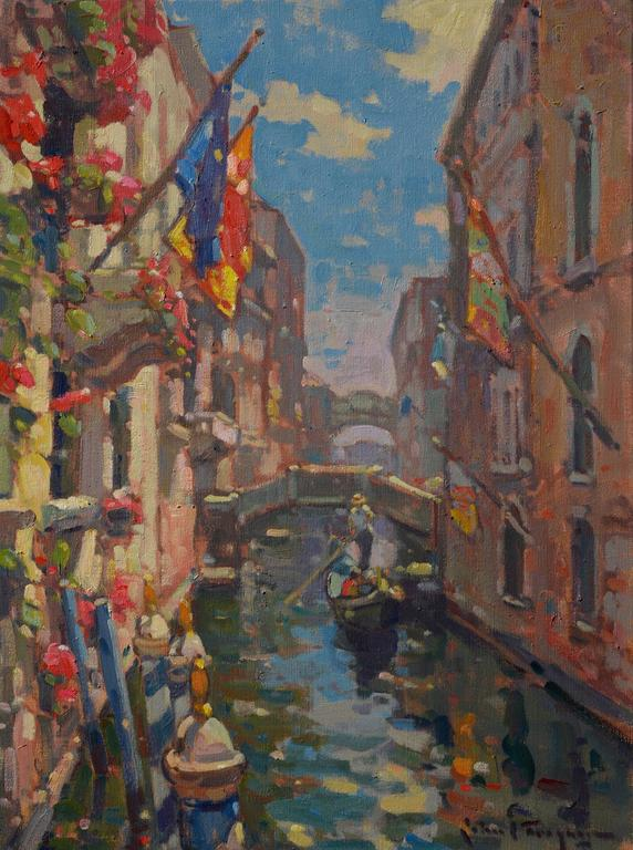 John C Traynor Colors Of Venice Gondola Ride