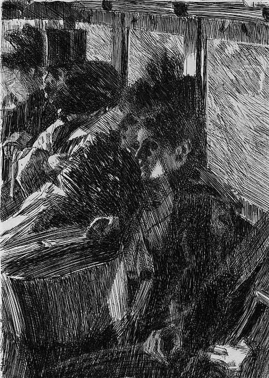 Anders Zorn Omnibus Print At 1stdibs