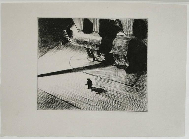 Edward Hopper Night Shadows Print For Sale At 1stdibs