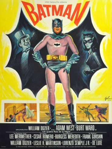 Resultado de imagen para Batman(1966) movie poster
