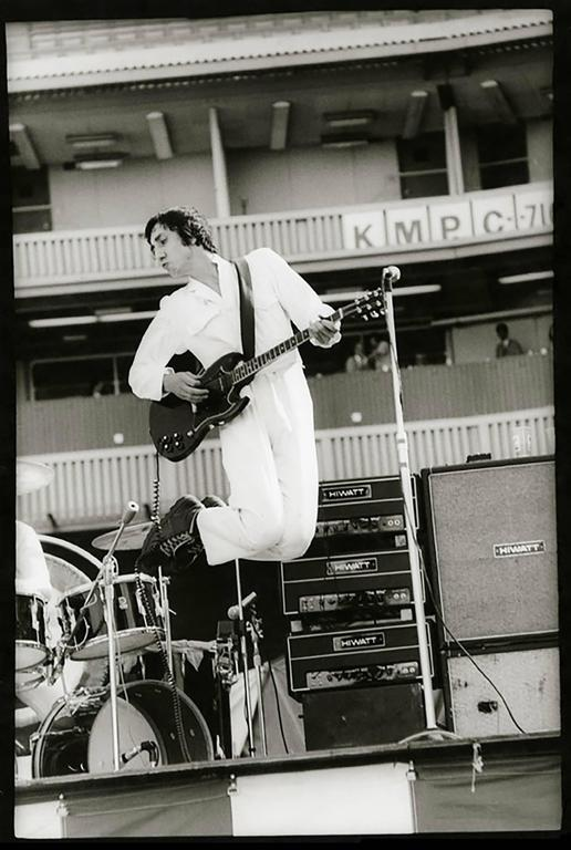 Neil Zlozower Pete Townshend The Who 1970 Photograph
