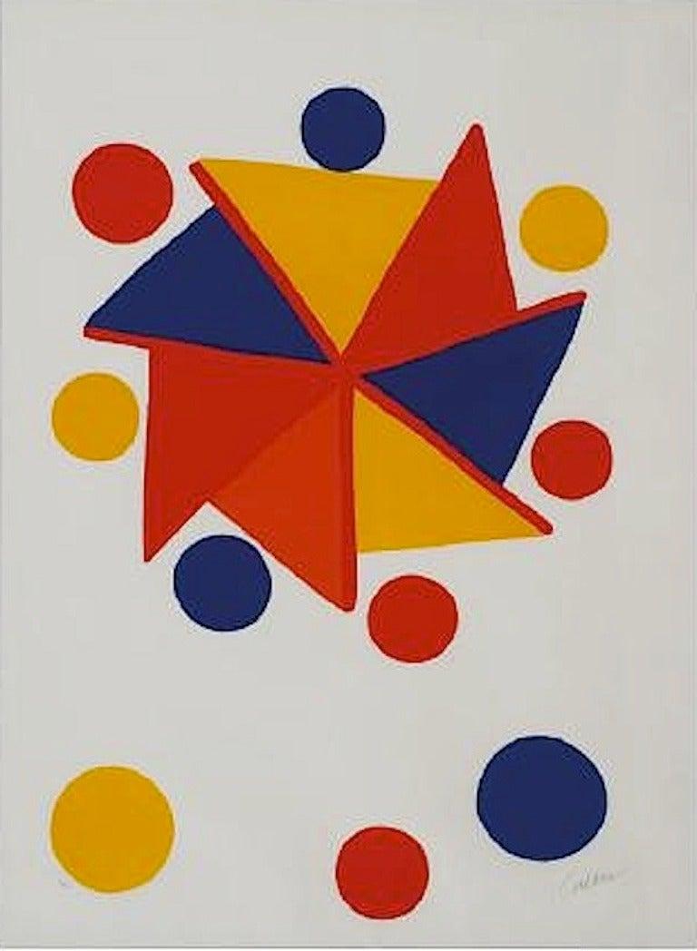 Alexander Calder Pinwheel Print At 1stdibs