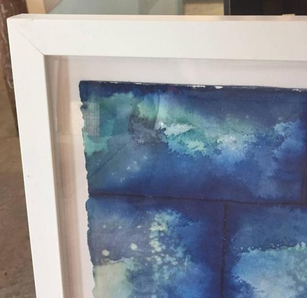 Nathan Slate Joseph - Blue Abstract; Untitled, Painting ...