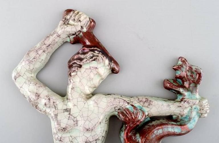 Michael Andersen Pottery, Bornholm, Relief, Saint George