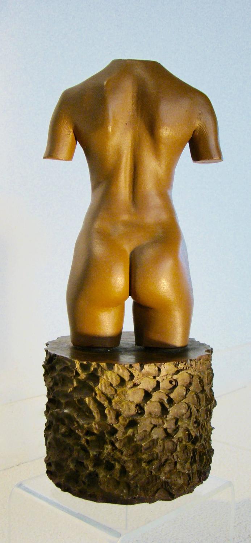 Robert Graham Sculpture Torso MOCA Edition In Solid