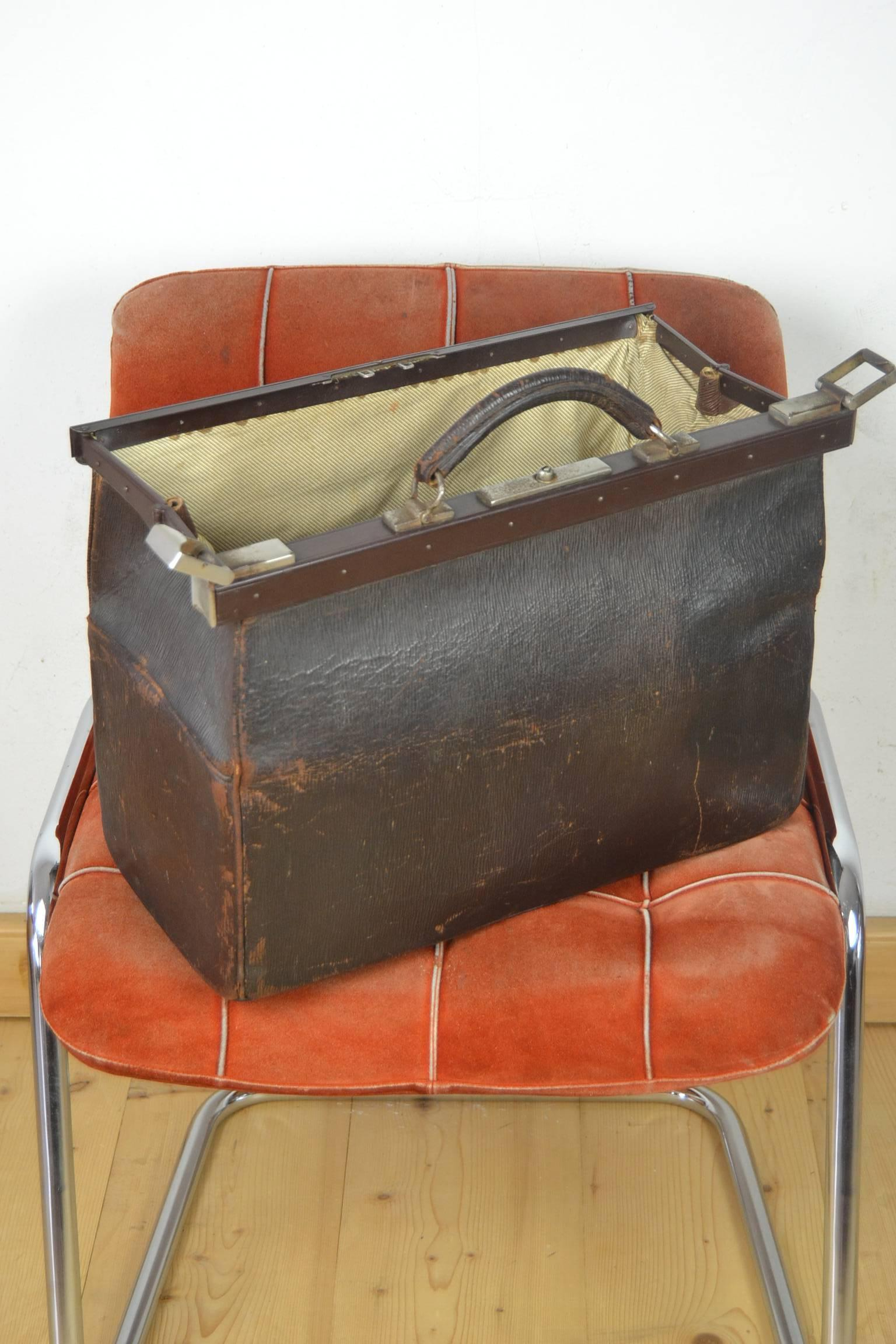 Antique Leather Doctors Bag For Sale At 1stdibs