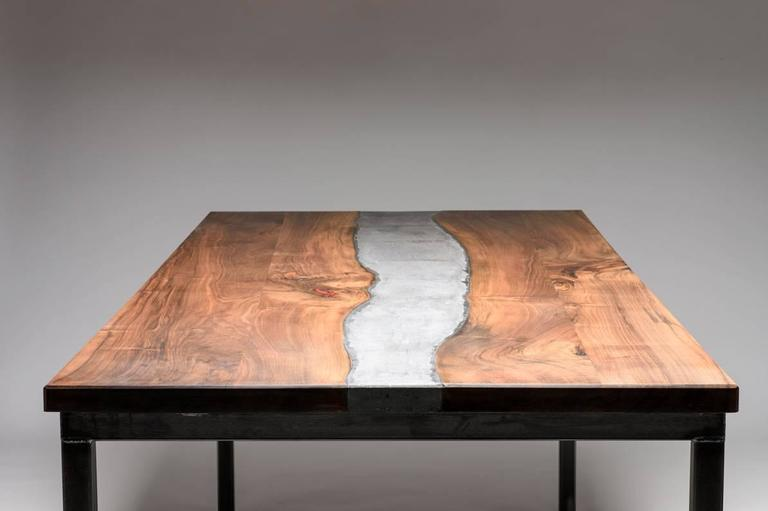 Outstanding Designer Table Concrete River Austria 2016