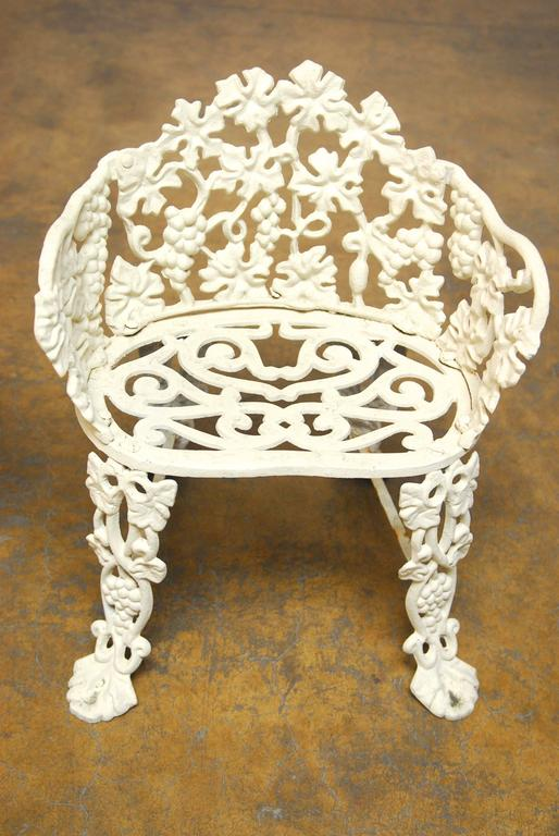 Victorian Cast Iron Patio Set At 1stdibs
