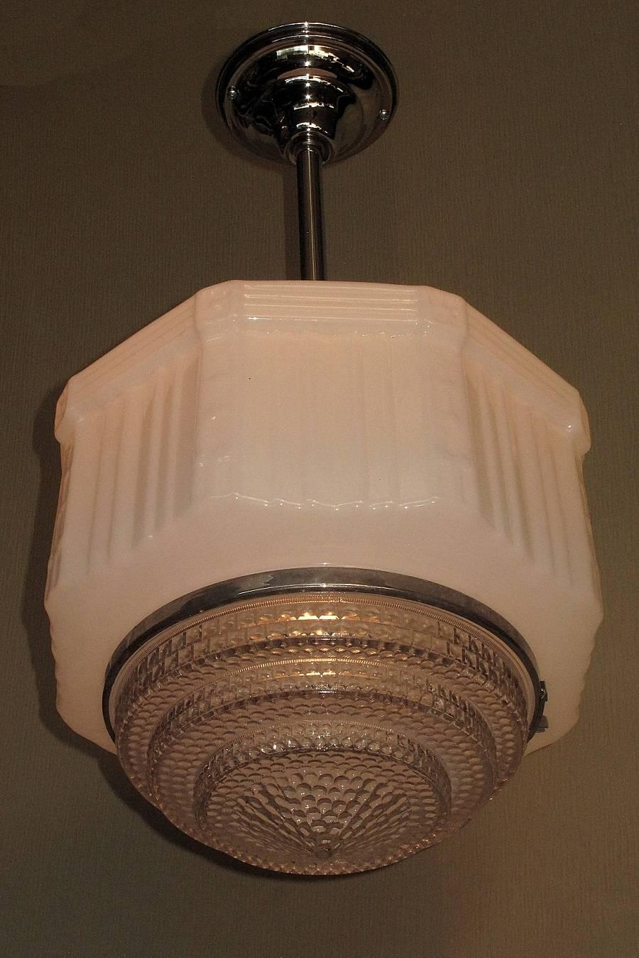 Large Schoolhouse Pendant Light