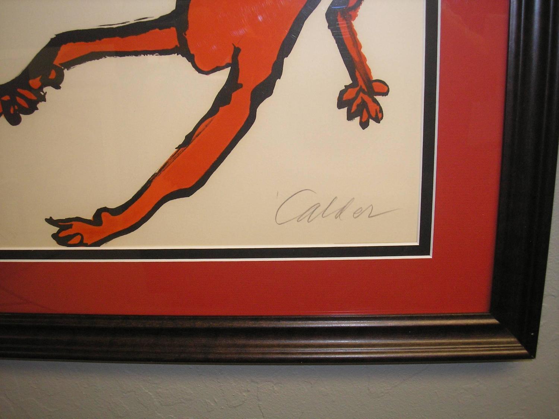 Original Artist Proof Alexander Calder Lithograph Elephant