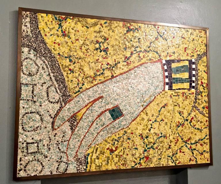Mid Century Wall Mosaic
