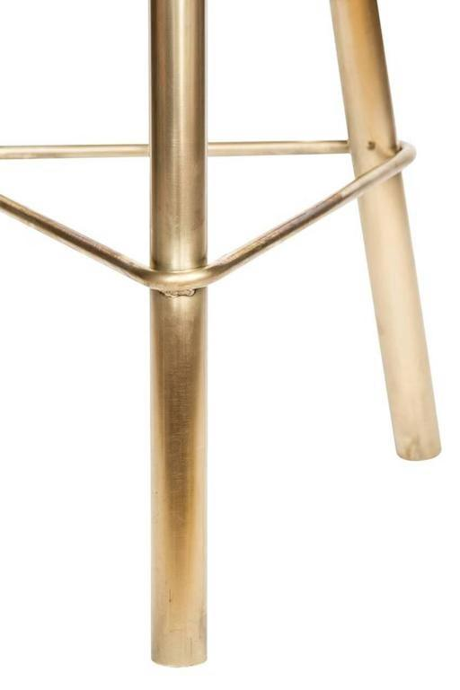 Erickson Aesthetics Brass Stool For Sale At 1stdibs