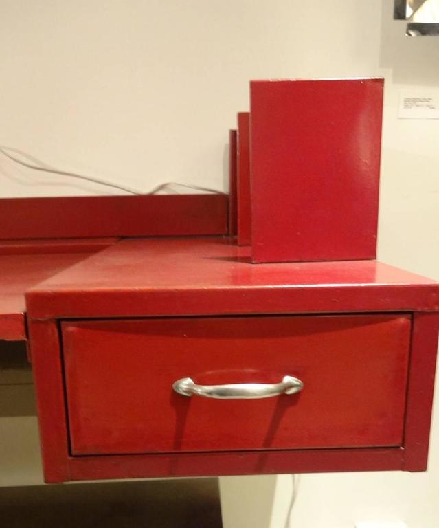 Jean Prouve And Jules Leleu Wall Mounted Desk For Sale At