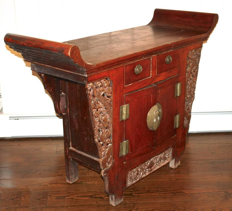 Chinese Tongzhi Altar Cabinet For Sale At 1stdibs