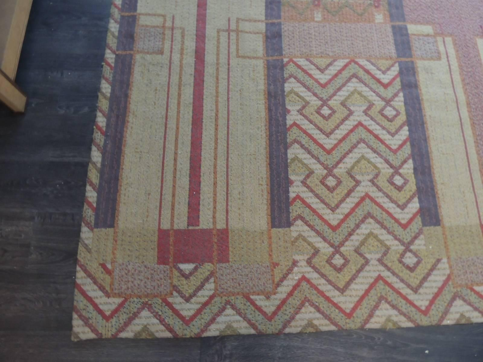 Frank Lloyd Wright Inspired Rugs