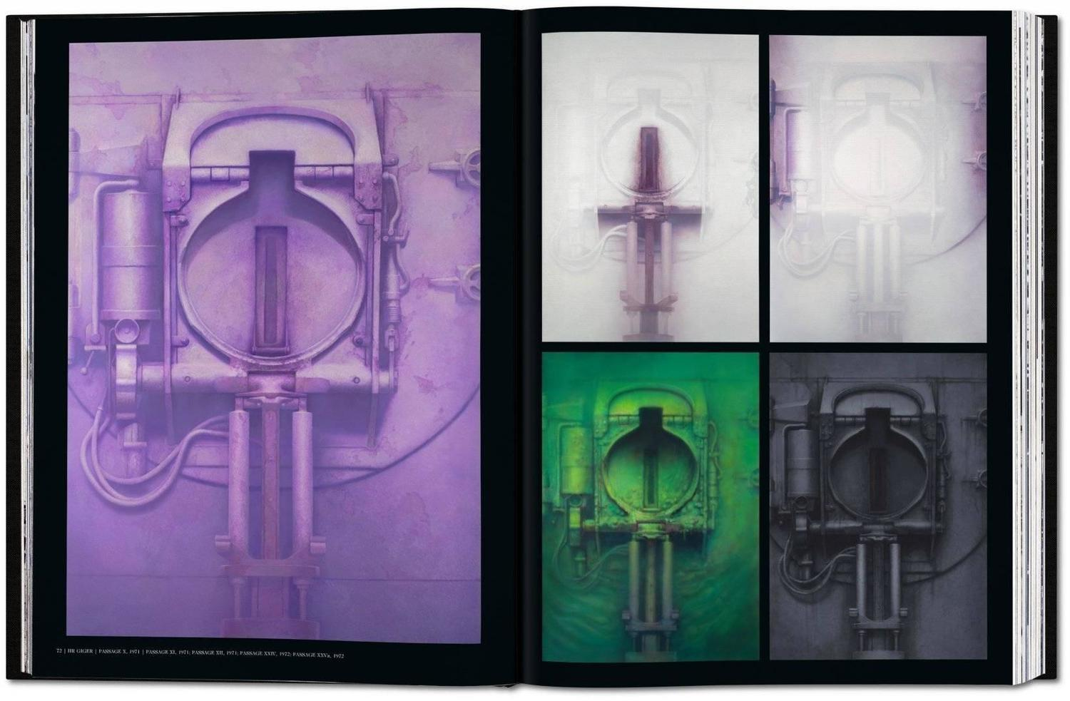 HR Giger Art Edition Nr 101200 Relief For Sale At 1stdibs