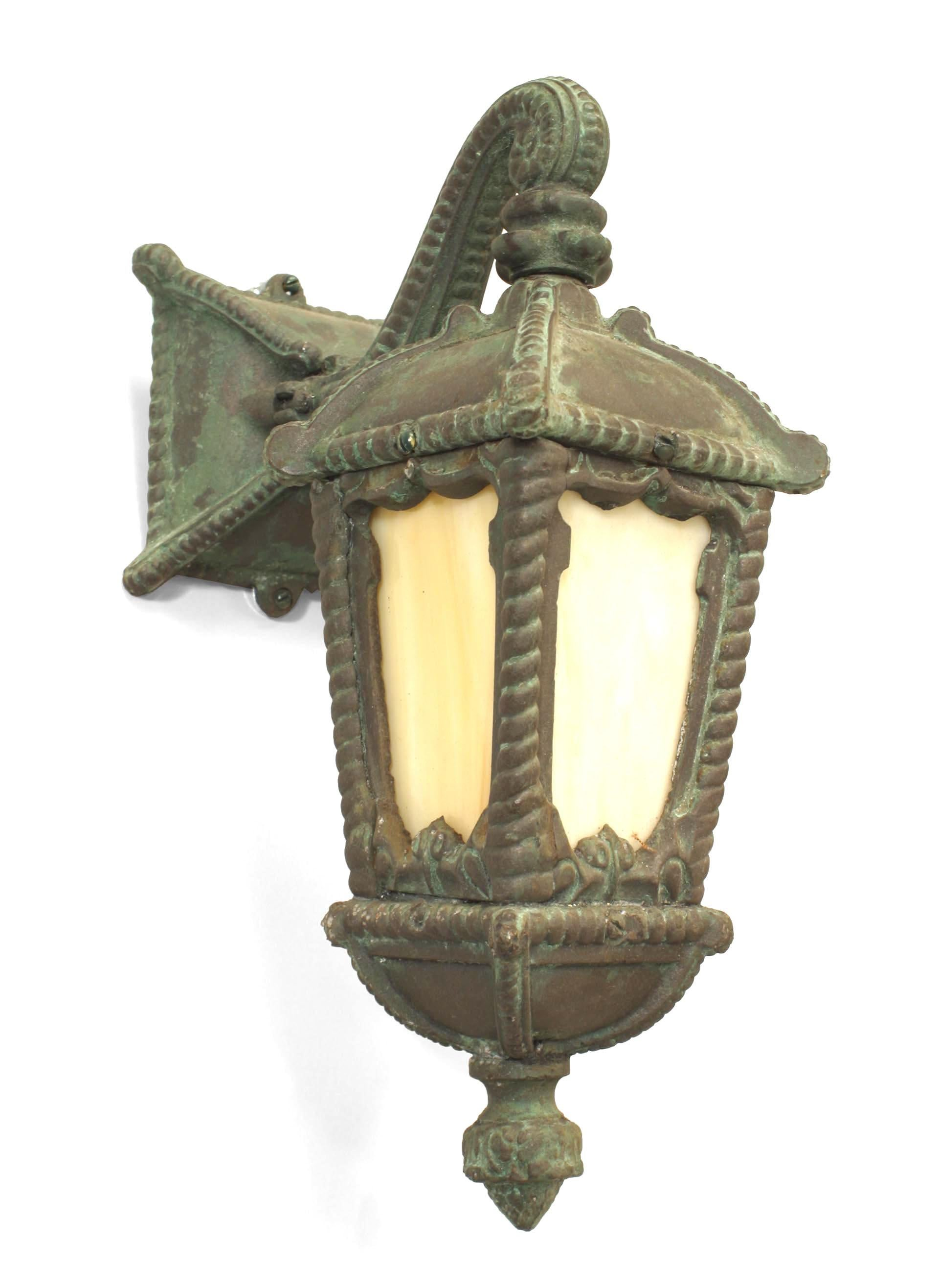 Pair of American Victorian Iron Outdoor Wall Sconces For ... on Victorian Wall Sconces id=43746